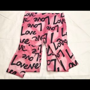 No Boundaries-love leggings